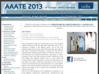 Aaate2013.eu