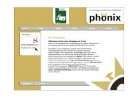 phoenixmedia.ch Webseite Vorschau