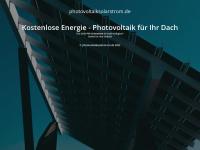 photovoltaiksolarstrom.de Webseite Vorschau
