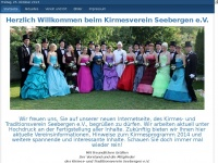 kirmes-in-seebergen.de Webseite Vorschau