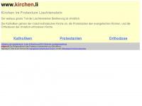 kirchen.li Webseite Vorschau