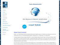 swiwatech.ch Webseite Vorschau