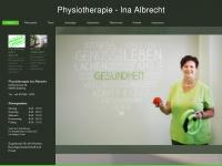 physiotherapie-ina-albrecht.de Webseite Vorschau