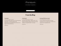 phonepunk.de Webseite Vorschau
