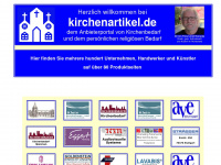 kirchenartikel.de Webseite Vorschau