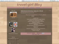 travel-girl.blog.de Webseite Vorschau