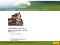 zur-gruenflaeche.de Webseite Vorschau