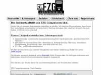 fzgcomputerservice.de Webseite Vorschau