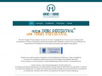 1to1-personaltraining.com Webseite Vorschau