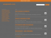 amajewels.com Webseite Vorschau