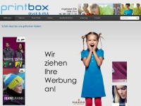 printbox.ch Webseite Vorschau