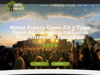 metal-frenzy.de Webseite Vorschau