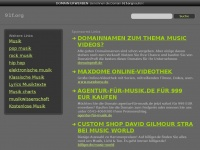 91f.org Webseite Vorschau