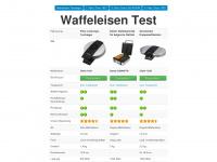 waffeleisen-test.eu Webseite Vorschau