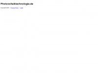 photovoltaiktechnologie.de Webseite Vorschau