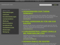 4webmail.com Webseite Vorschau
