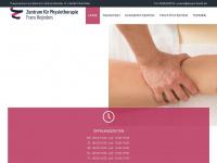 physio-fuerth.de Webseite Vorschau