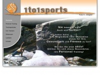 1to1sports.de Webseite Vorschau