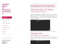 kirchenmusik-altstaetten.ch Thumbnail