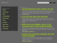 9flat.com Webseite Vorschau