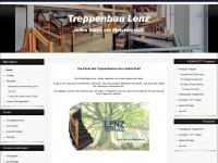 treppenbau-lenz.de Webseite Vorschau