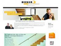 treppenbau-becker.de Webseite Vorschau
