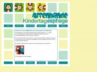 kindertagespflege-affenbande.de Webseite Vorschau