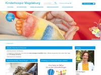 kinderhospiz-magdeburg.de Webseite Vorschau