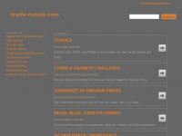 trade-russia.com Webseite Vorschau