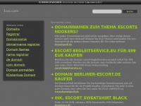 1ox.com Webseite Vorschau