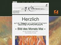art-gerhard-klarmann.de Webseite Vorschau