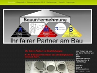 amb-bau.de Webseite Vorschau