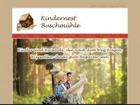 kindernest-buschmuehle.de Webseite Vorschau
