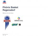 phoenixbasket.ch Webseite Vorschau