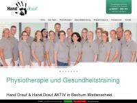 physiotherapie-hand-drauf.de Webseite Vorschau