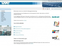 uve.de Webseite Vorschau