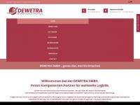 dewetra.de Webseite Vorschau