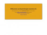physiotherapie-muenster.info Webseite Vorschau