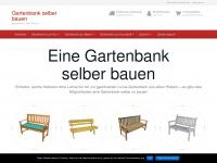 Holzbank Selber Bauen Mit Sandfüllung : ... selber bauen ⋆ die Holzbank für den Garten gartenbank-selber-bauen