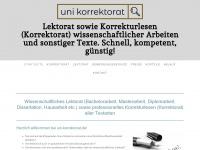 uni-korrektorat.de Thumbnail