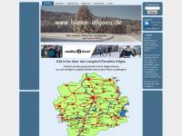 loipen-allgaeu.de Webseite Vorschau