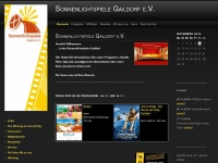 kino-gaildorf.de Webseite Vorschau