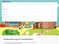 kindersofa.org Webseite Vorschau