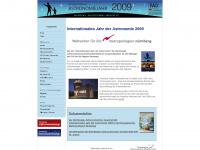 iya2009.de Webseite Vorschau