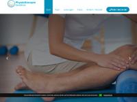 physiotherapie-karadimas.de Webseite Vorschau