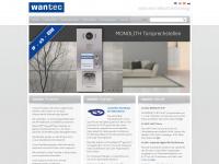 wantec.de Webseite Vorschau