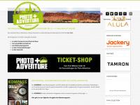 photoadventure.eu Webseite Vorschau