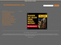 kickinthepeanuts.com Webseite Vorschau