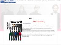 loewe-workwear.de Webseite Vorschau