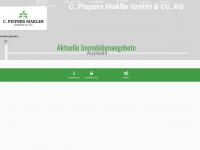 piepers-makler.de Webseite Vorschau